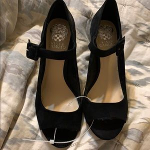 New Vince Camuto black shoes